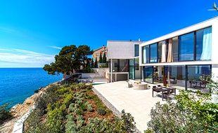 Une maison en Croatie mise en location sur la plateforme HouseTrip.