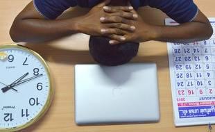 Illustration souffrance au travail