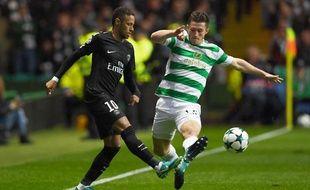 Neymar ouvre le score face à Glasgow