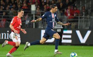 Angel Di Maria a ouvert le score pour le PSG face à Brest, samedi 9 novembre.