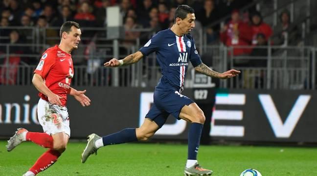 Brest - PSG - Ligue 1 direct
