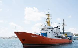 L'Aquarius le 15 août 2018 à La Vallette (Malte)