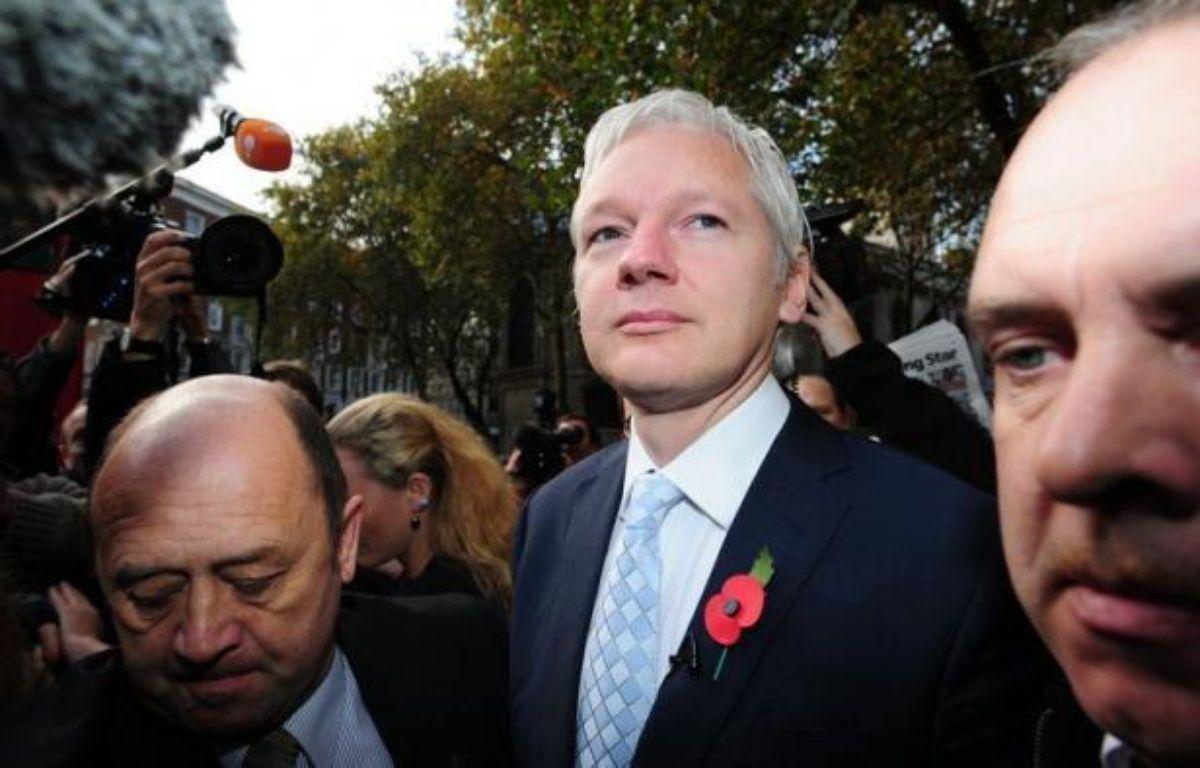 La Haute cour de Londres a confirmé mercredi l'extradition du fondateur de WikiLeaks Julian Assange vers la Suède, un jugement qui survient après 11 mois de bataille juridique mais est susceptible d'appel devant la Cour suprême. – Leon Neal afp.com