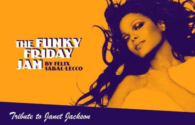 Visuel de la soirée tribute to Janet Jackson