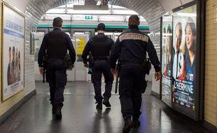 Des agents de sécurité de la RATP. (Illustration)