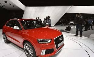 Une Audi RS Q3.