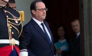 François Hollande à l'Elysée le 13 mai 2015.