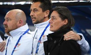 France-Danemark à Strasbourg, avant la Coupe du monde.
