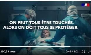 Le spot choc diffusé par le ministère de la Santé pour sensibiliser aux gestes barrières