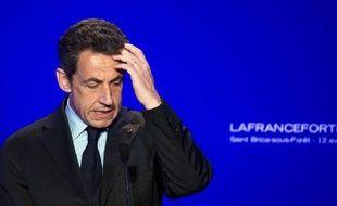 """Nicolas Sarkozy a concédé vendredi du bout du lèvres ne pas s'être rendu lui-même à Fukushima (Japon) après la catastrophe nucléaire de 2011, contrairement à ce qu'il a affirmé à plusieurs reprises lors de réunions de campagne et qui a été dénoncé comme un """"mensonge"""" par les écologistes."""