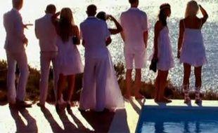 Capture d'écran du teaser de la série-réalité de W9 «Les Ch'tis à Ibiza».
