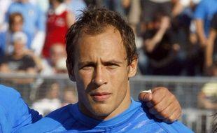 Sergio Parisse, le capitaine de la Squadra Azzura.