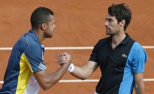 Jo-Wilfried Tsonga et Jérémy Chardy joueront les deux premiers simples de la finale de la coupe Davis face à la Croatie