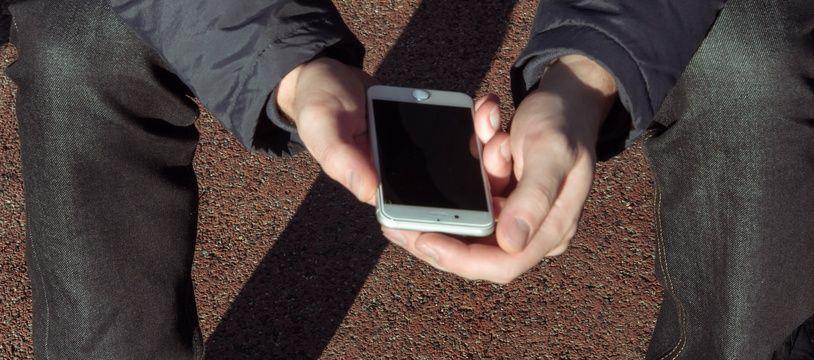 Ecran de smartphones. Illustration