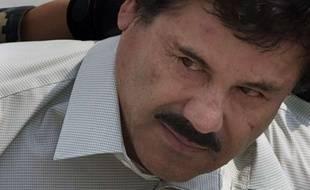 """Joaquin """"El Chapo""""Guzman, ici le 22 février 2014."""