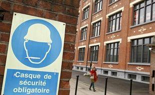 La bourse du travail inaugurée dans l'ancienne usine de Fives-Cail à Lille.