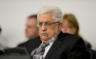 """Le président palestinien Mahmoud Abbas a accusé jeudi Israël d'être responsable de """"l'escalade"""" en Cisjordanie et de mettre en danger les tentatives américaines de relance du processus de paix."""