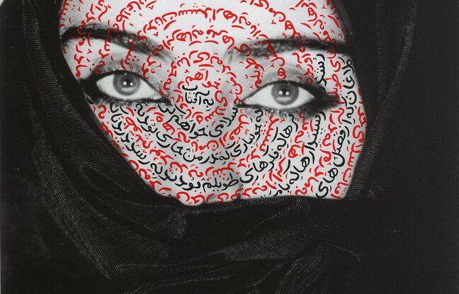 I am its secret (Je suis son secret), 1993, de Shirin Neshat.