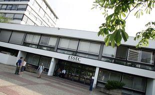 Le campus de l'Essec à Cergy-Pontoise (Val-d'Oise). (Illustration)