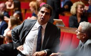 Christian Jacob à l'Assemblée.