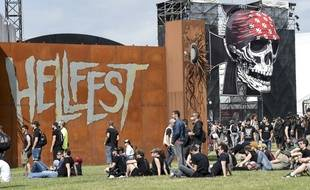 Le site du Hellfest