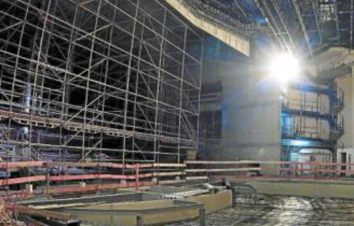 Les travaux au Nouveau Siècle ont démarré en juillet 2011. –  M.LIBERT / 20 MINUTES