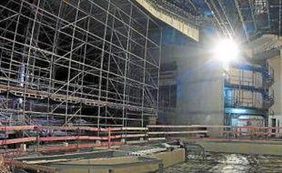 Les travaux au Nouveau Siècle ont démarré en juillet 2011.