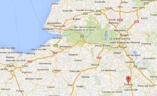 Guillaume Rouger est le candidat LREM à la mairie d'Evreux.