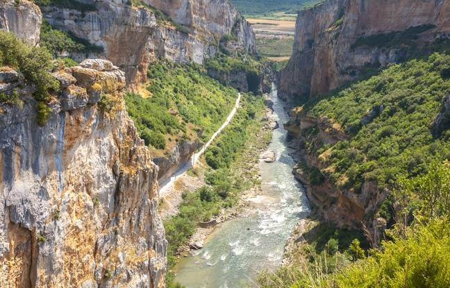 La Foz de Lumbier et son canyon, en Navarre.