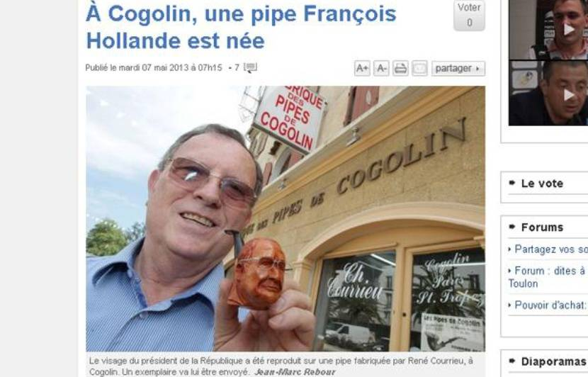 Partager une pipe