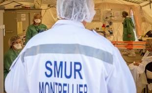 Face à l'épidémie de coronavirus, le CHU de Montpellier s'organise pour faire face à l'afflux de malades.
