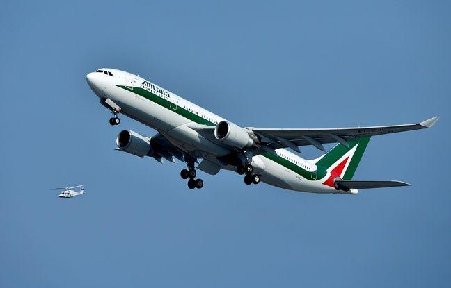 648x415 avion compagnie italienne alitalia decolle aeroport rome fiumicino 5 juillet 2015
