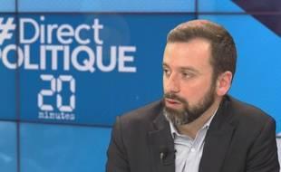 Le politologue Yves-Marie Cann dans l'émission #DirectPolitique, le 8 décembre 2015.