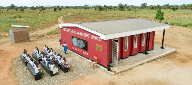 La première école au monde imprimée en 3D vient d'être inaugurée