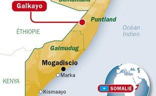 Deux membres de l'ONU ont été abattu à Galkayo, en Somalie le 7 avril 2014