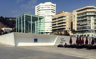 Le «Centre Pompidou provisoire» de Malaga en Espagne.