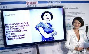 """La ministre déléguée aux PME, Fleur Pellerin, a dit dimanche, dans un entretien au Parisien, ne pas croire à la lutte des classes dans les petites et moyennes entreprises, estimant par ailleurs que dans plusieurs cas """"il est normal que des gens puissent s'enrichir beaucoup""""."""