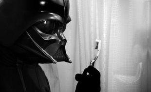 Dark Vador peut aussi se laver les dents