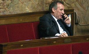 François Bayrou, le 17 mars 2009 à l'Assemblée nationale.