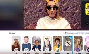 Avec Snap Camera, vous pouvez utiliser les filtres Snapchat sur l'ordinateur.