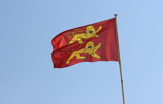 648x415 drapeau normandie illustration