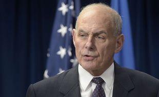 John Kelly, le secrétaire américain à la Sécurité intérieure, le 6 mars 2017 à Washington.