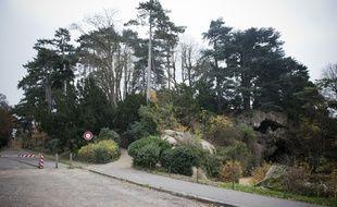 Le Bois de Boulogne. (Illustration)