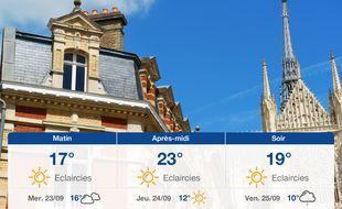 Météo Amiens: Prévisions du mardi 22 septembre 2020