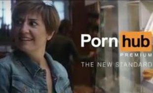 Publicité pour Pornhub, août 2015.