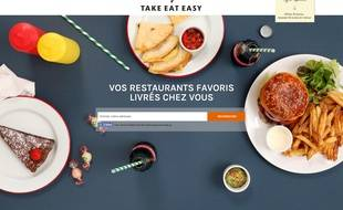 La société Take Eat Easy a été placée en redressement judiciaire