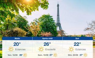 Météo Paris: Prévisions du jeudi 17 septembre 2020