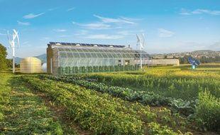 Le projet Nice Eco Farm prévoit d'installer une exploitation agricole et une production d'énergies renouvelables dans la plaine du Var à Nice.