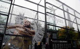 L'entrée du Musée du Quai Branly