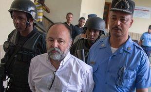 Christophe Naudin à la cour de Saint-Domingue le mardi 8 mars.